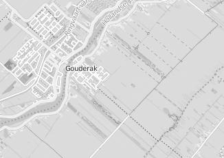 Kaartweergave van Oostrom in Gouderak