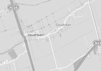 Kaartweergave van Pellikaan in Goudriaan