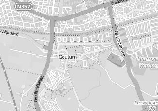 Kaartweergave van Terpstra in Goutum