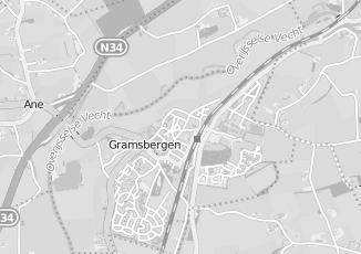 Kaartweergave van W zandbergen in Gramsbergen