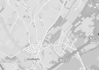 Kaartweergave van Joosten in Grathem