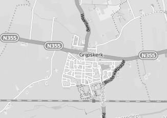 Kaartweergave van Hazenberg in Grijpskerk