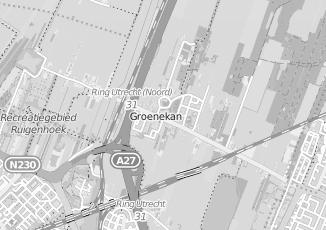 Kaartweergave van Copijn in Groenekan