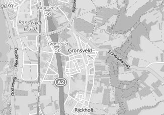 Kaartweergave van W c bril in Gronsveld