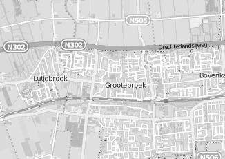 Kaartweergave van Ligthart in Grootebroek