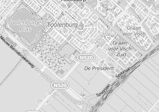 Kaartweergave van Belastingdienst in Haarlemmermeer