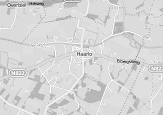 Kaartweergave van Albert heijn in Haarlo