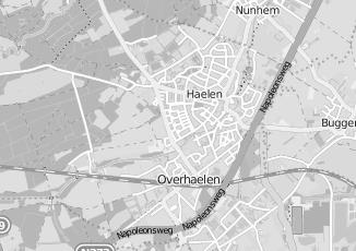 Kaartweergave van Gubbels in Haelen