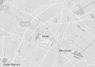 Kaartweergave van Bank in Halle