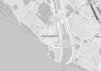 Kaartweergave van Jansen in Hansweert