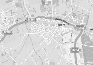 Kaartweergave van Heijden in Hapert