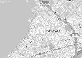 Kaartweergave van Bosman in Harderwijk