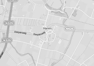 Kaartweergave van Hoefnagels in Haren Noord Brabant