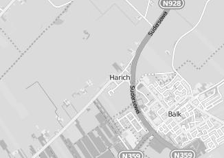 Kaartweergave van Bergsma in Harich