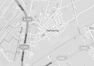 Kaartweergave van Tabak in Harkema