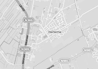 Kaartweergave van Boersma in Harkema