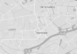 Kaartweergave van Badkamer in Harreveld