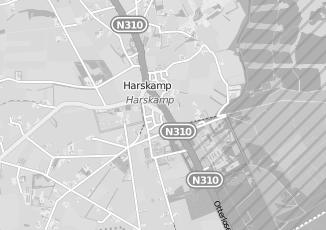 Kaartweergave van Methorst in Harskamp