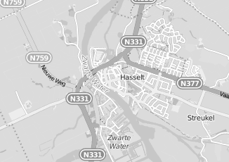 Kaartweergave van Hofstede in Hasselt