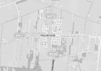 Kaartweergave van Hut in Haulerwijk