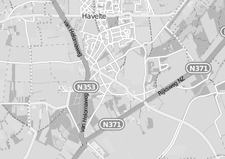 Kaartweergave van Hoogeveen in Havelte