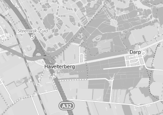 Kaartweergave van Albert heijn in Havelterberg