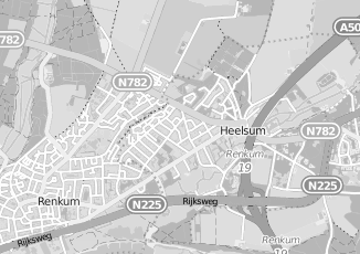 Kaartweergave van Hendriksen in Heelsum