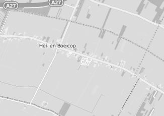 Kaartweergave van Bikker in Hei  En Boeicop