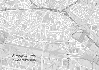 Kaartweergave van Technische bedrijven in Hengelo