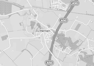 Kaartweergave van Fietsenwinkel in Hernen