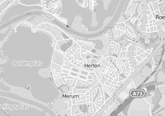 Kaartweergave van Daamen in Herten