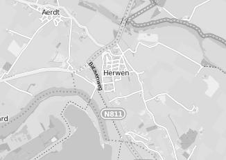 Kaartweergave van Woonwinkel in Herwen