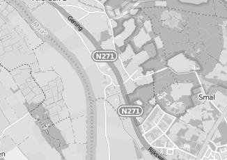 Kaartweergave van Milieustraat in Heukelom