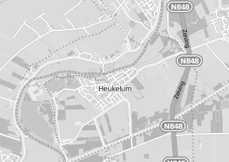 Kaartweergave van Iking in Heukelum