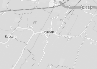 Kaartweergave van Bank in Hitzum