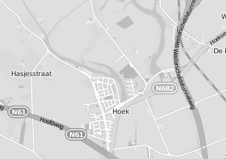 Kaartweergave van Bruijne in Hoek