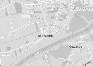 Kaartweergave van Groothandel in bouwmateriaal in Hoenzadriel