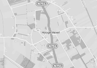 Kaartweergave van Bank in Hoge Hexel