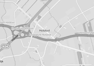 Kaartweergave van Vobis in Holsloot