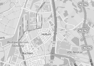 Kaartweergave van Milieustraat in Holtum
