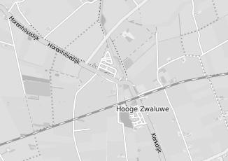 Kaartweergave van Bijl in Hooge Zwaluwe