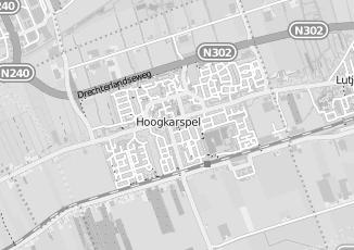 Kaartweergave van Lange in Hoogkarspel