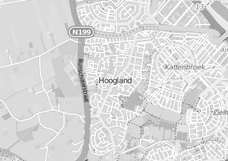 Kaartweergave van Blom in Hoogland