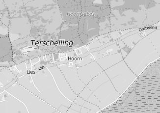 Kaartweergave van Buren in Hoorn Friesland