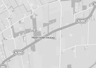 Kaartweergave van Bank in Hoornsterzwaag