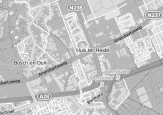 Kaartweergave van Bank in Huis Ter Heide Utrecht