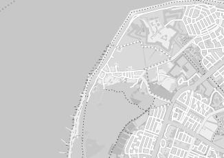 Kaartweergave van Hotel zeezicht in Huisduinen