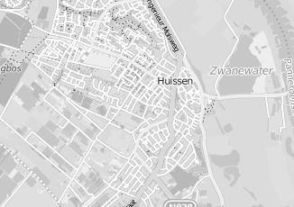 Kaartweergave van Hulshof in Huissen