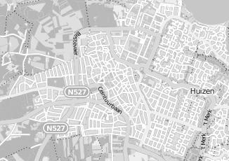 Kaartweergave van Colijn in Huizen