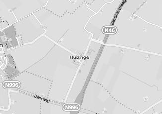 Kaartweergave van Lake side in Huizinge